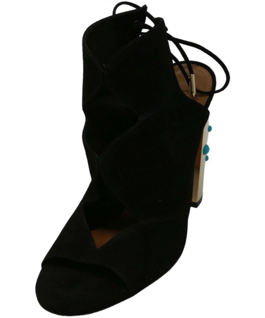 Image for Aquazzura Firenze Women's Pasadena Sun Sandal Leather Pump