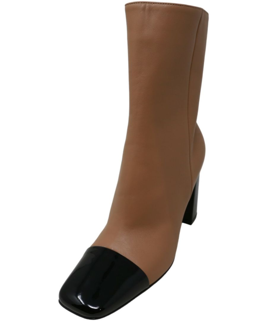 Image for Gianvito Rossi Women's Patent Boot Ankle-High Leather