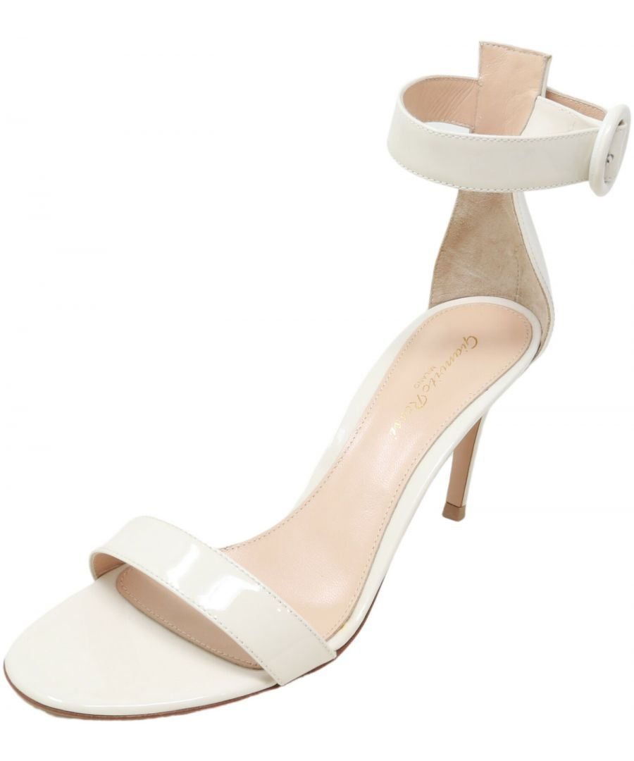 Image for Gianvito Rossi Women's G60953 Sandal High-Top Leather Heel