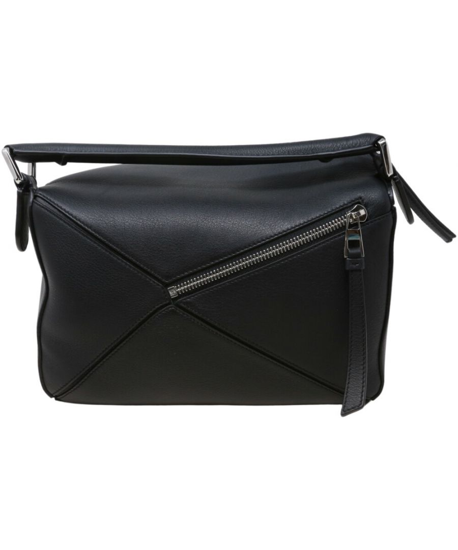 Image for Loewe Women's Puzzle Small Bag Leather Evening