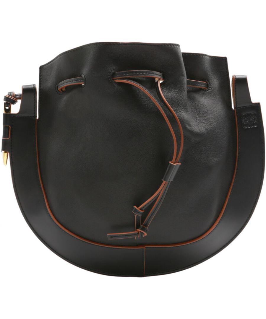 Image for Loewe Women's Horseshoe Bag Leather Shoulder Satchel
