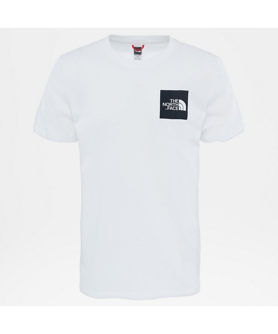 Image for The North Face Short Sleeve Fine T-Shirt, TNF White/Black