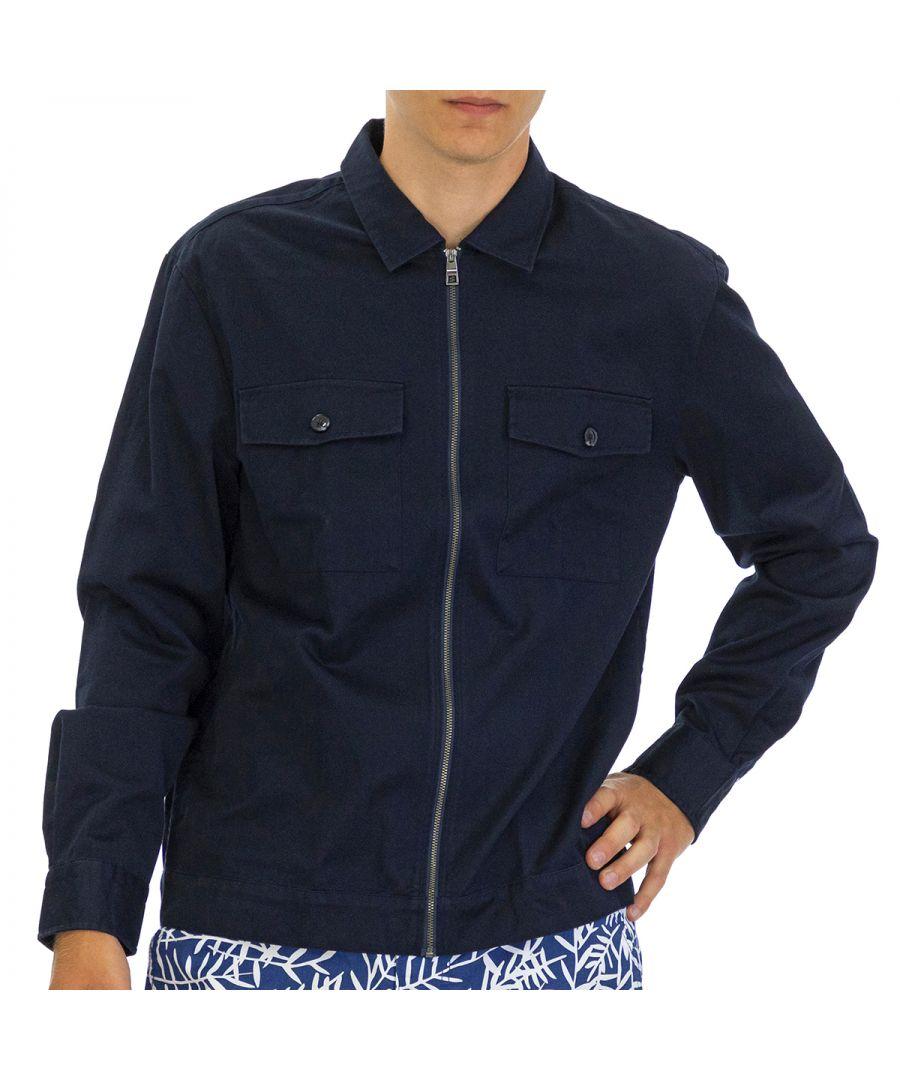 Image for Tommy Hilfiger Men Jacket  Regular fit  Full sleeve Blue