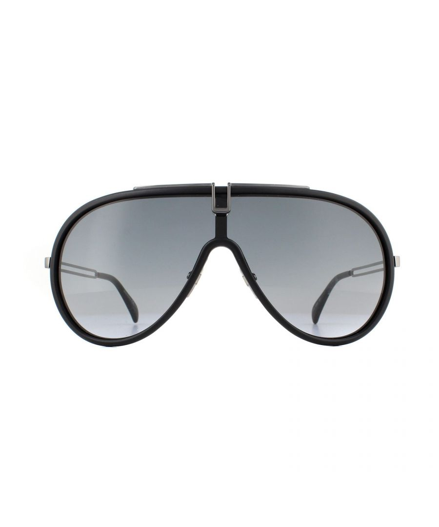 Image for Givenchy Sunglasses GV 7111/S 003 9O Matte Black Dark Grey Gradient