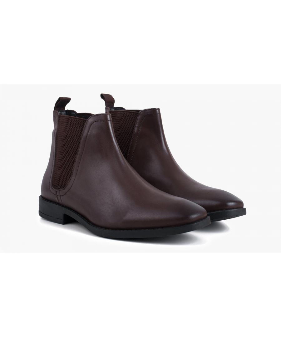 Image for Redfoot Rawlings Brown Leather Chelsea Boot