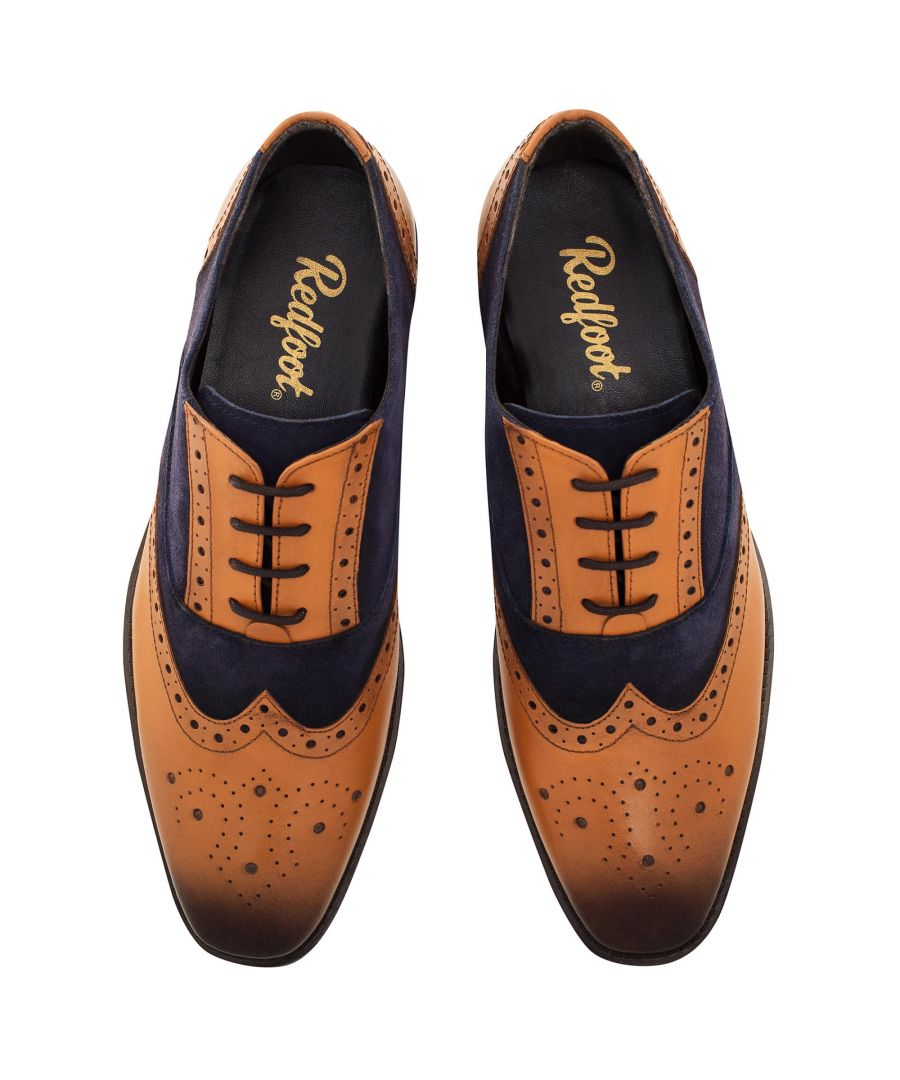 Image for Redfoot Issac Navy & Tan