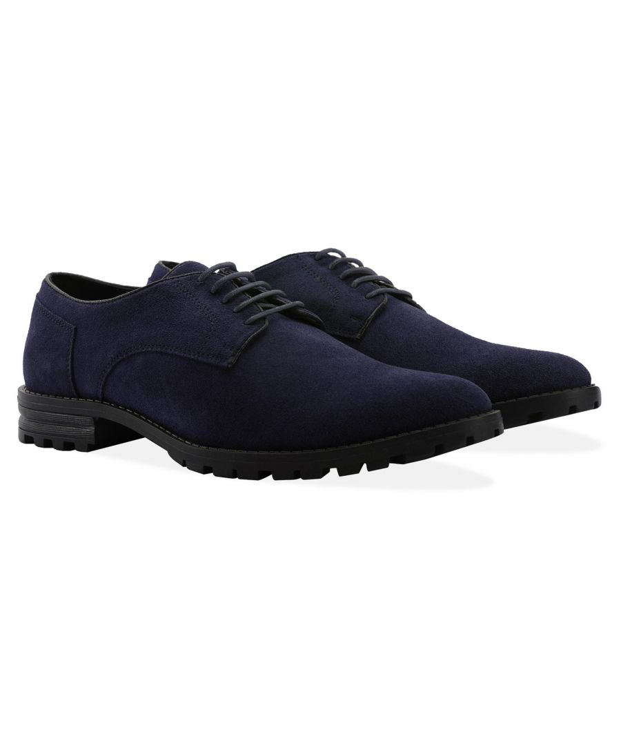 Image for Redfoot Todd Navy Suede Brogue