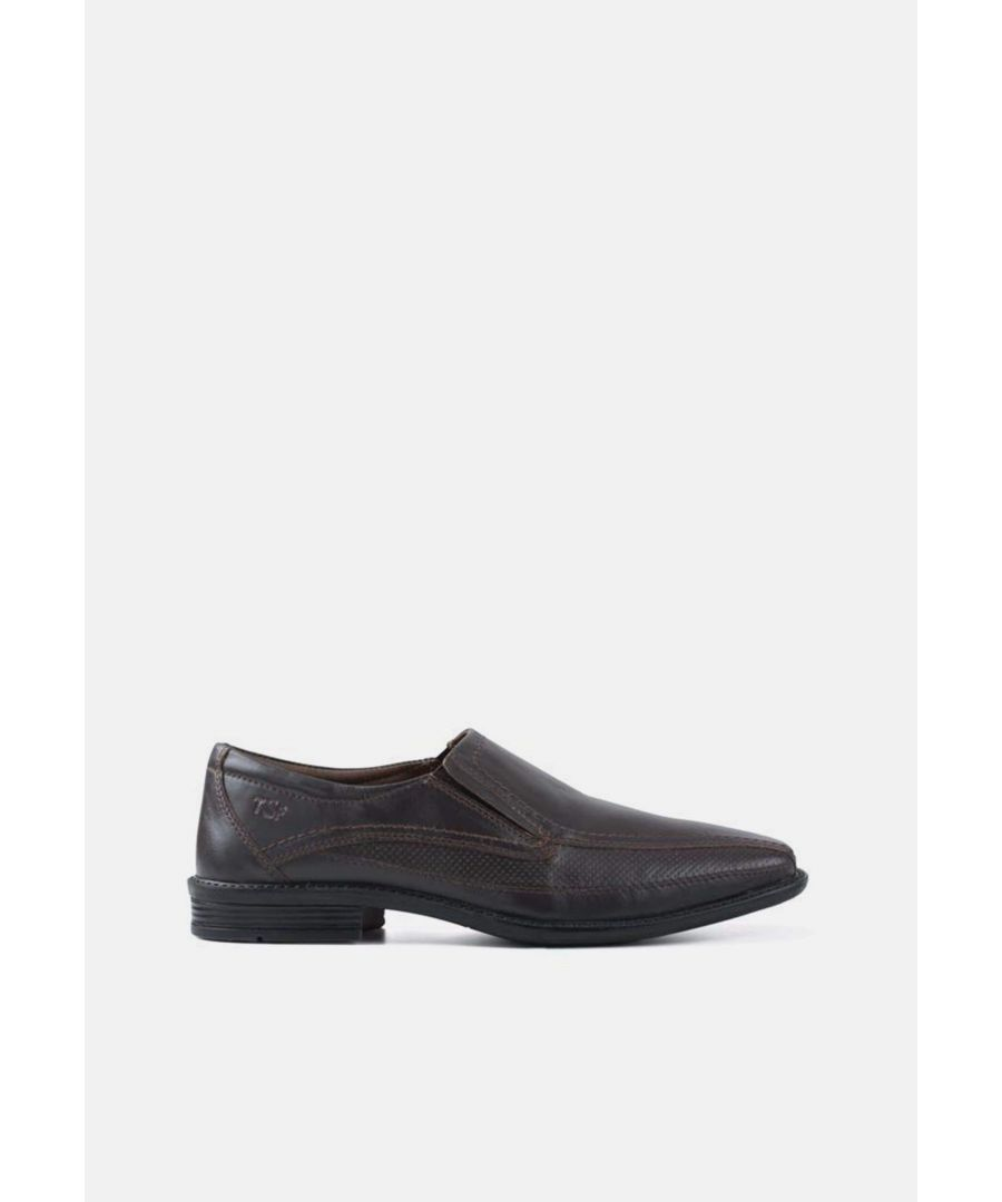 Image for Redfoot Maurice Brown Leather Slip On Shoe