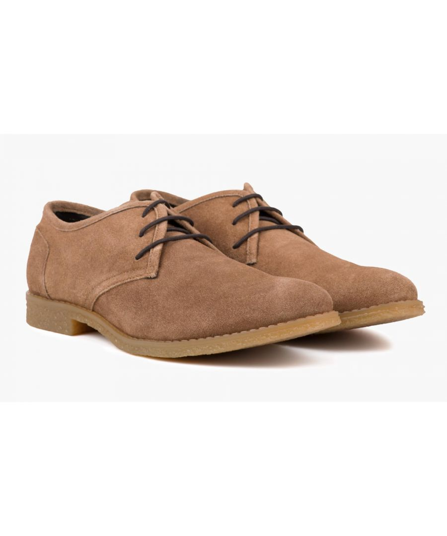 Image for Redfoot Dan Chestnut Suede Desert Shoe