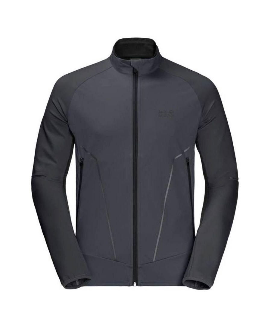 Image for Jack Wolfskin Light Hybrid Mens Jacket Charcoal
