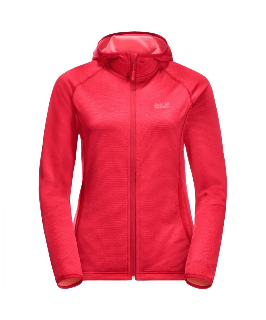 Image for Jack Wolfskin Star Womens Fleece Jacket Red