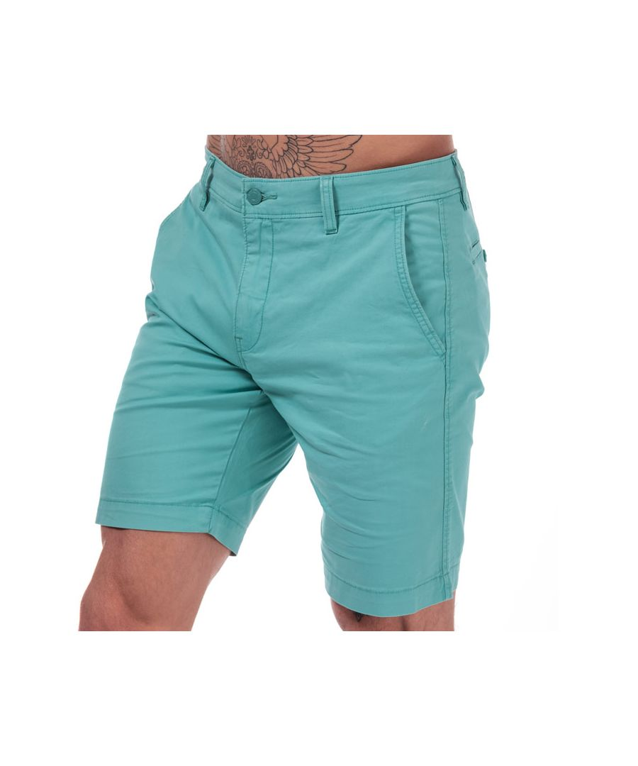 Image for Men's Levis Chino Taper Shorts in Teal