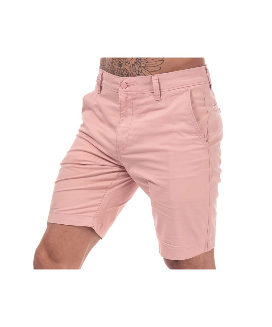 Image for Men's Levis Chino Taper Shorts in Pink