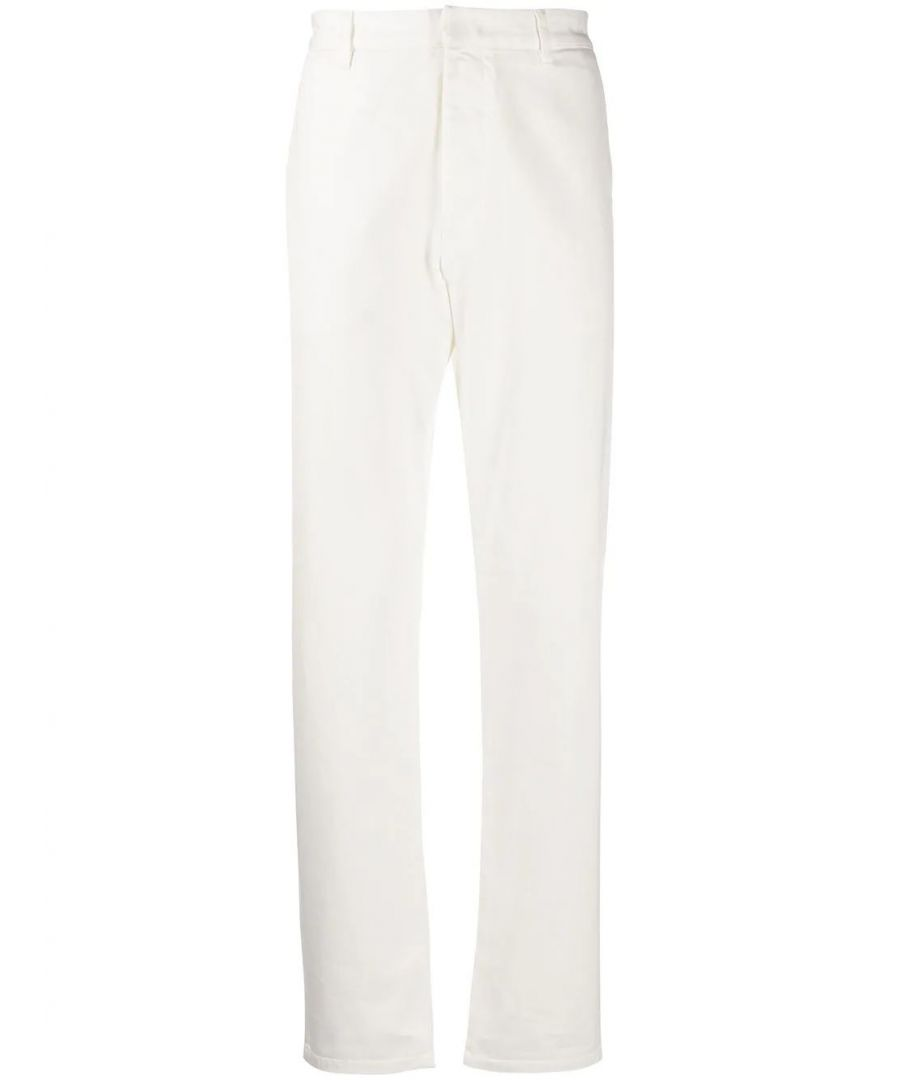 Image for PRADA MEN'S GEP301S2011P8SF01BR BEIGE COTTON PANTS