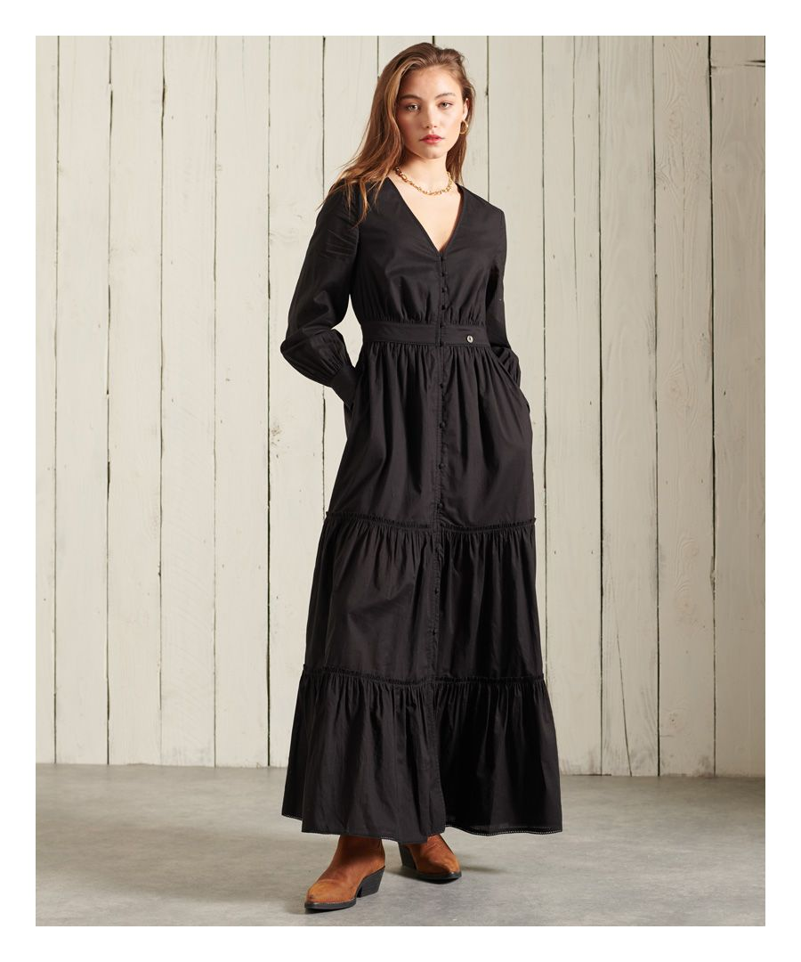 Image for Superdry Bohemian Maxi Dress