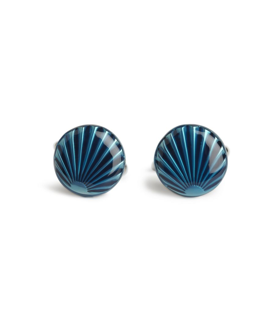 Image for Blue Shell Cufflinks