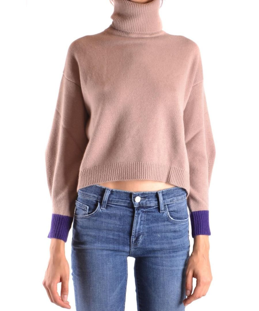 Image for PINKO WOMEN'S 1B13H8Y4ZUCY9 PINK CASHMERE SWEATER
