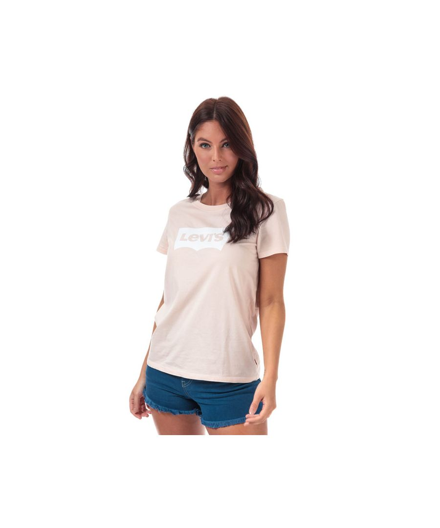 Image for Women's Levis The Perfect T-Shirt in Peach