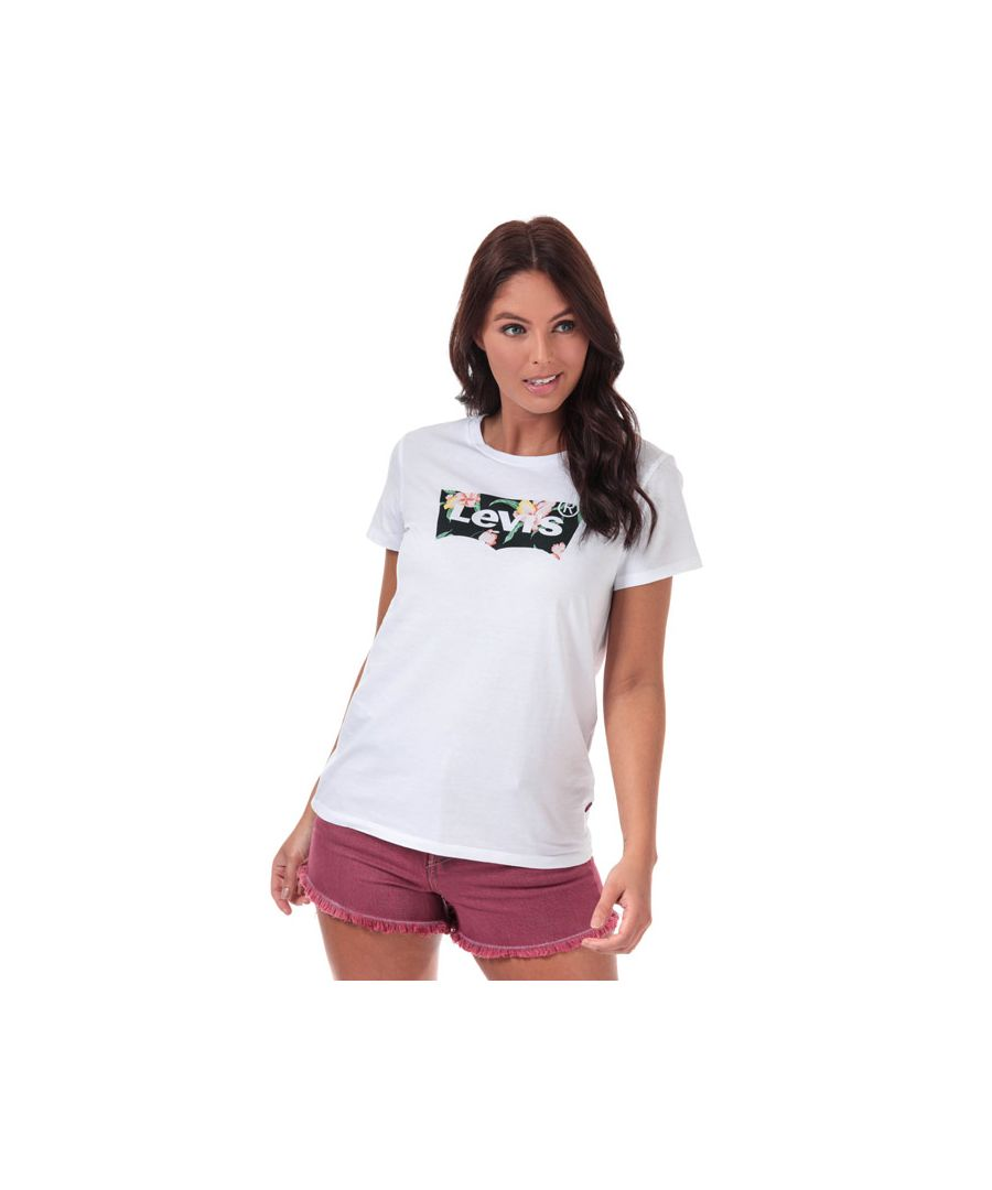 Image for Women's Levis The Perfect T-Shirt in White