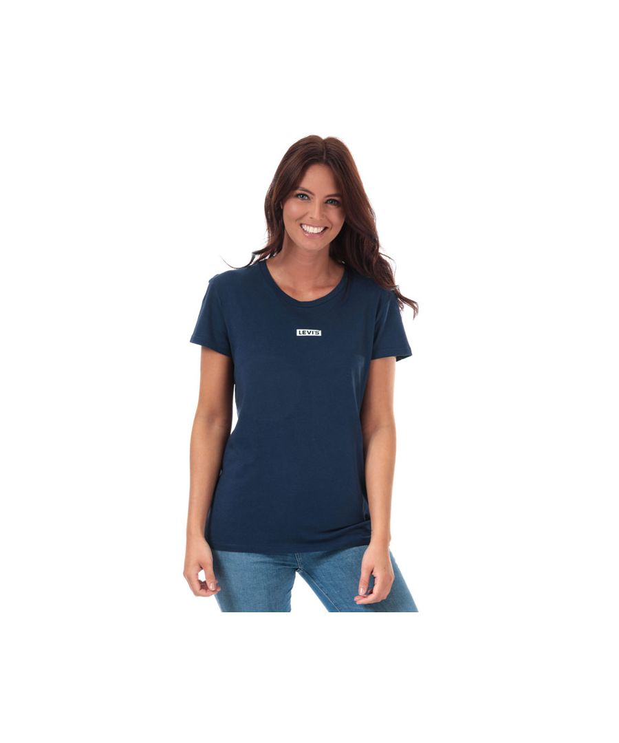 Image for Women's Levis The Perfect T-Shirt in Dark Blue