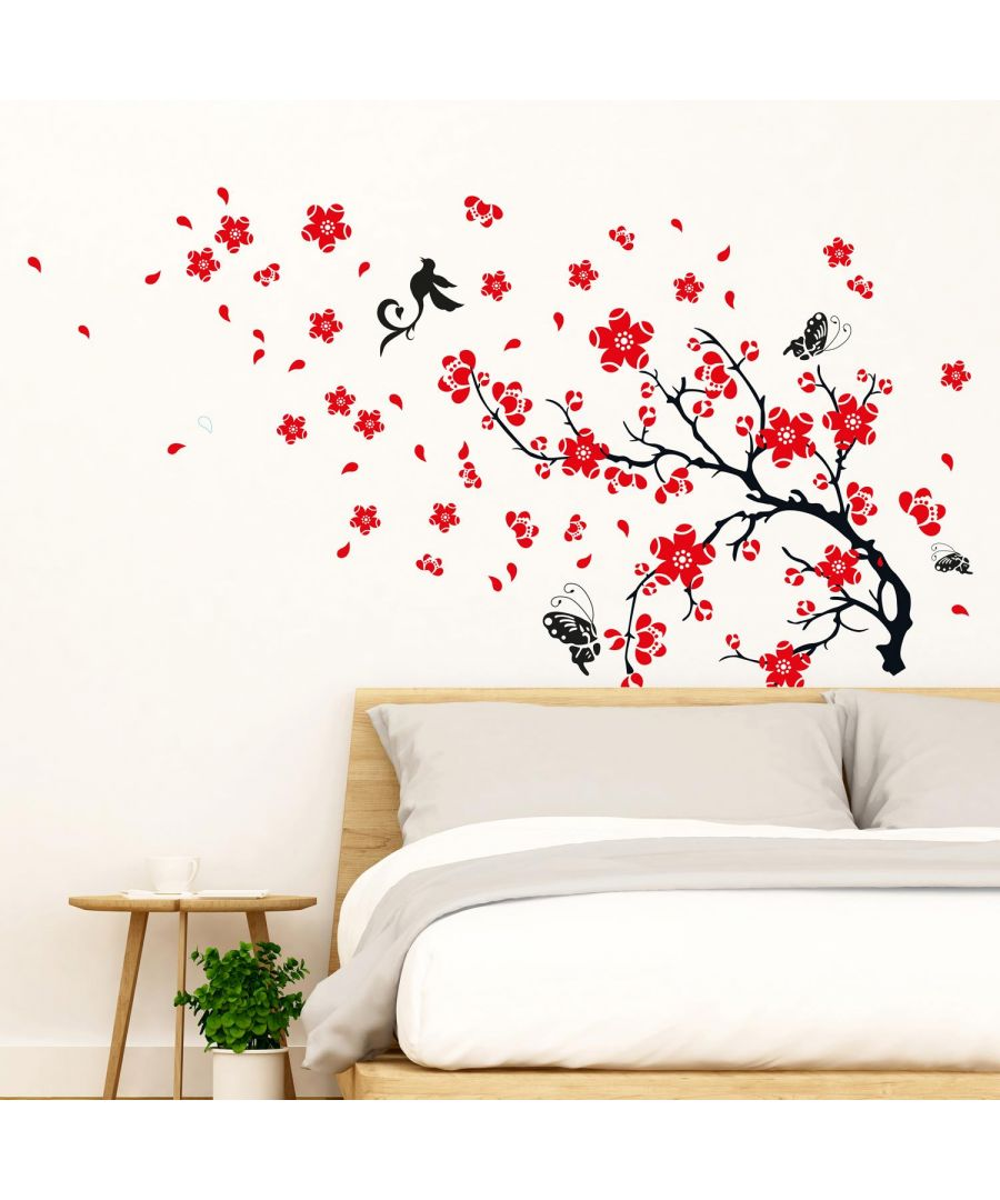 Image for Blossom Flower Self Adhesive DIY Wall Sticker, bedroom wall sticker