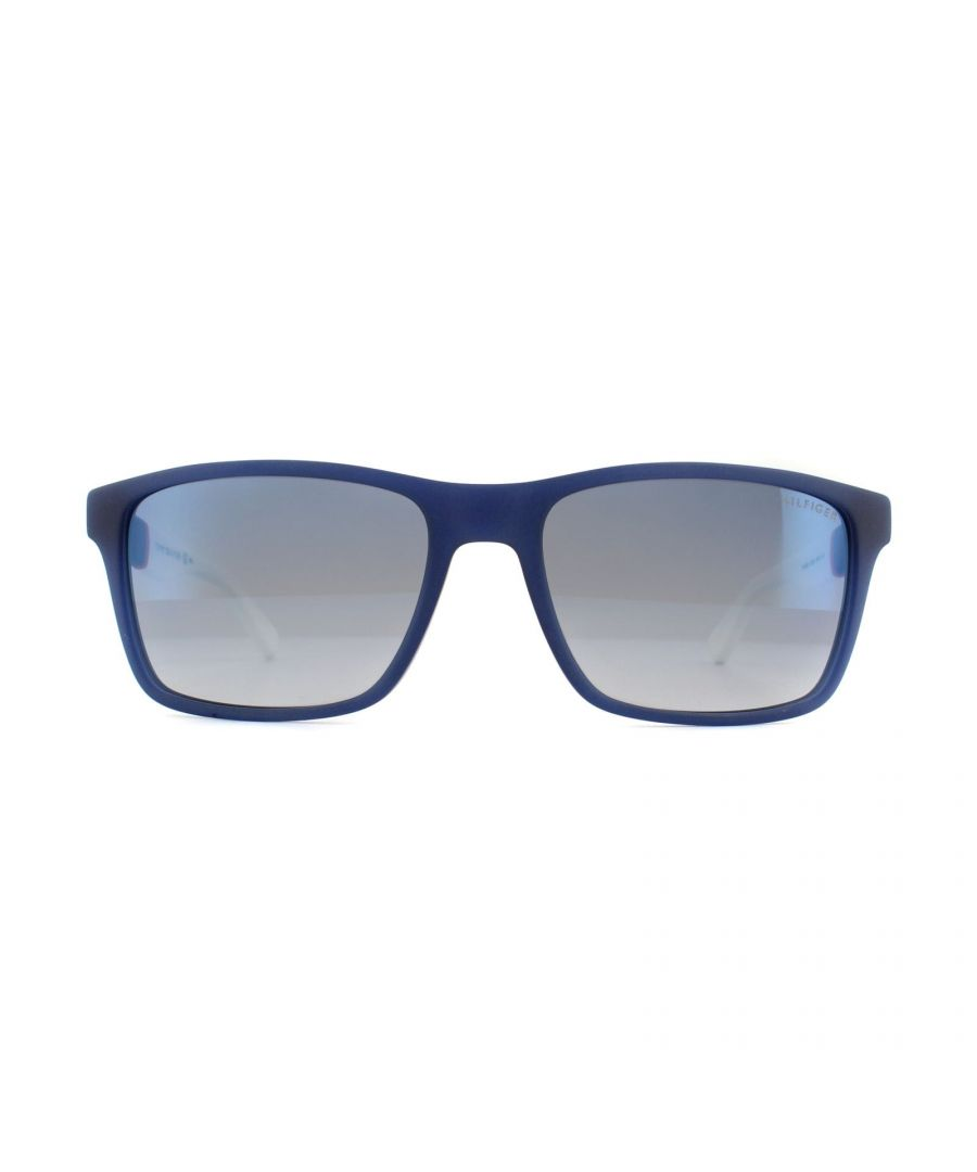 Image for Tommy Hilfiger Sunglasses TH 1405/S H1O DK Blue Red White Light Blue Sky Flash