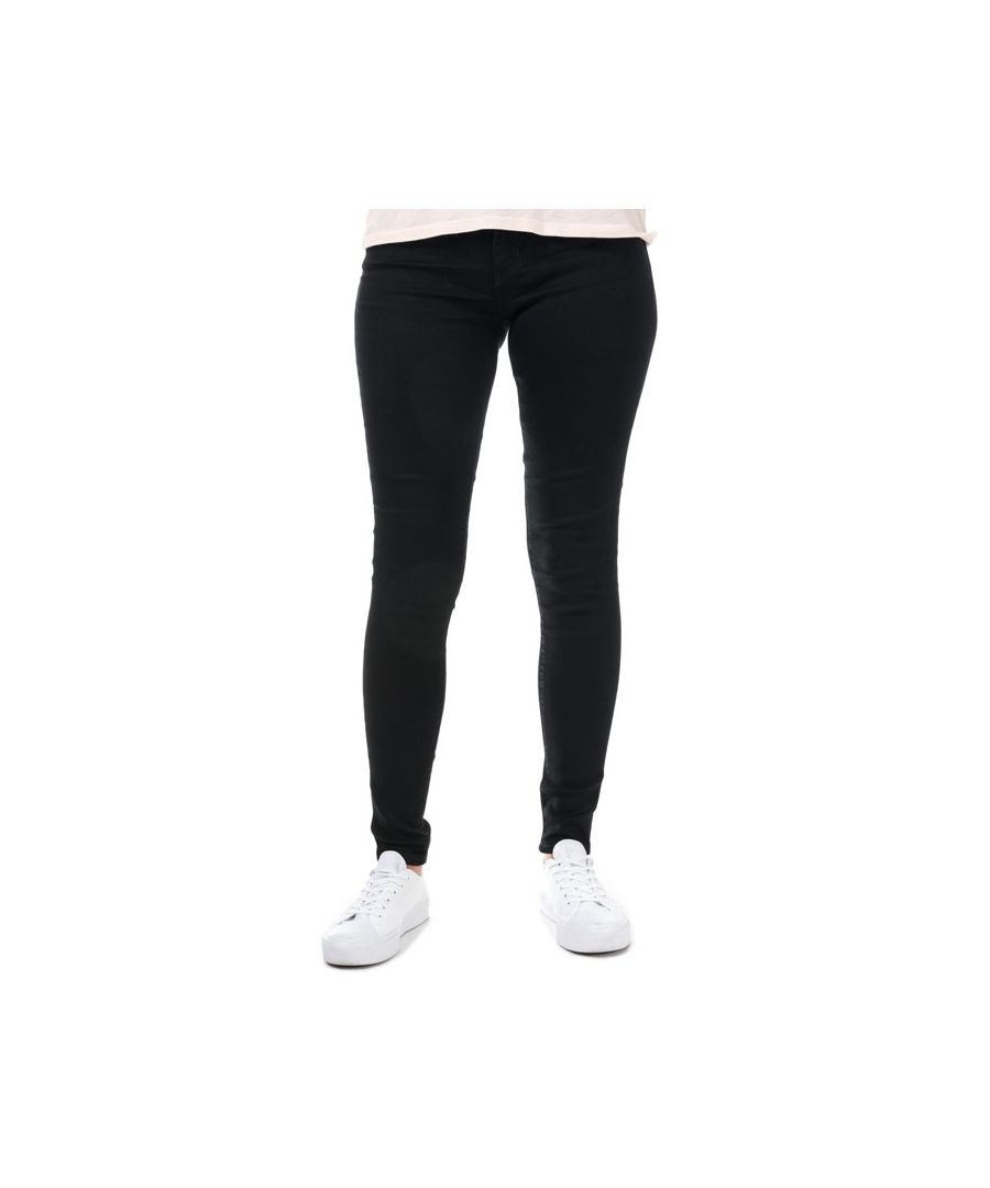 Image for Women's Levis 710 Super Skinny Secluded Echo Jeans in Black