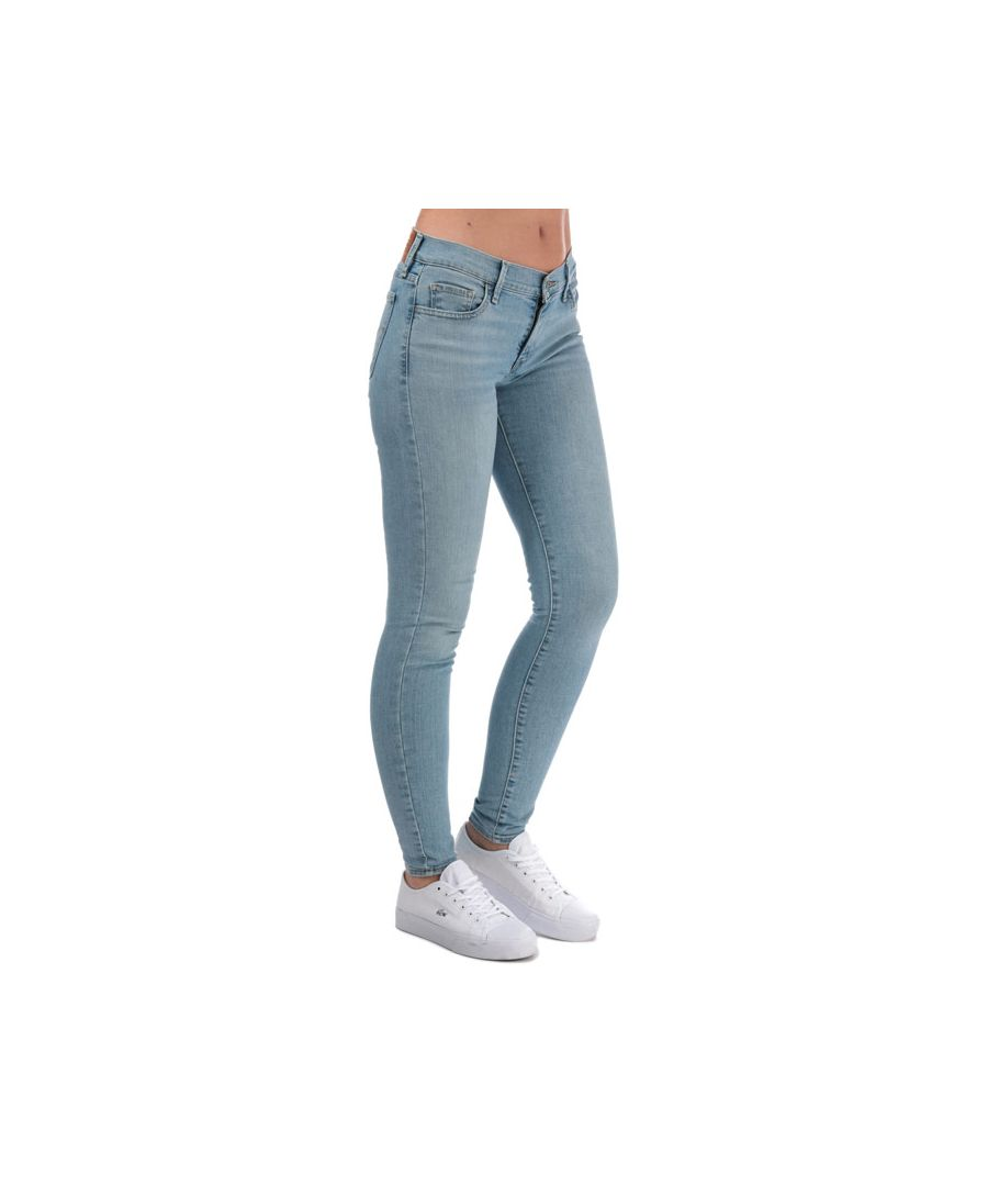 Image for Women's Levis 710 Super Skinny Get A Clue Jeans in Denim