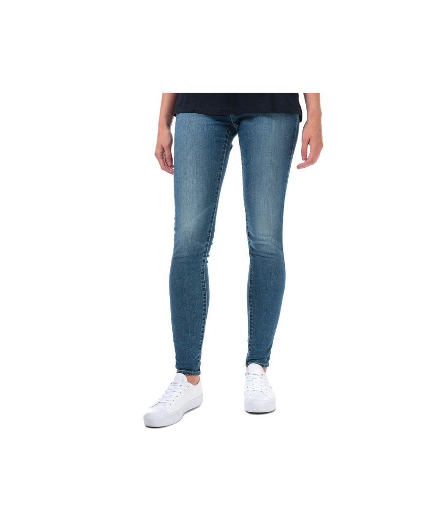Image for Women's Levis 710 Super Skinny Warm Jeans in Denim