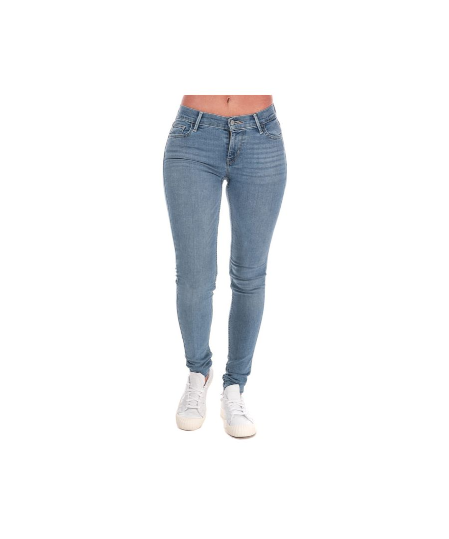 Image for Women's Levis 710 Super Skinny Jeans in Light Blue