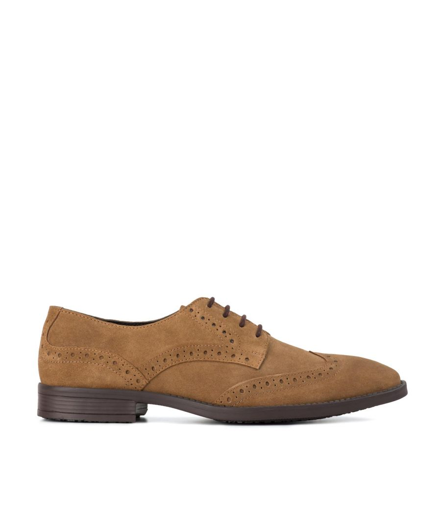 Image for Redfoot Harris Chestnut Suede Brogue