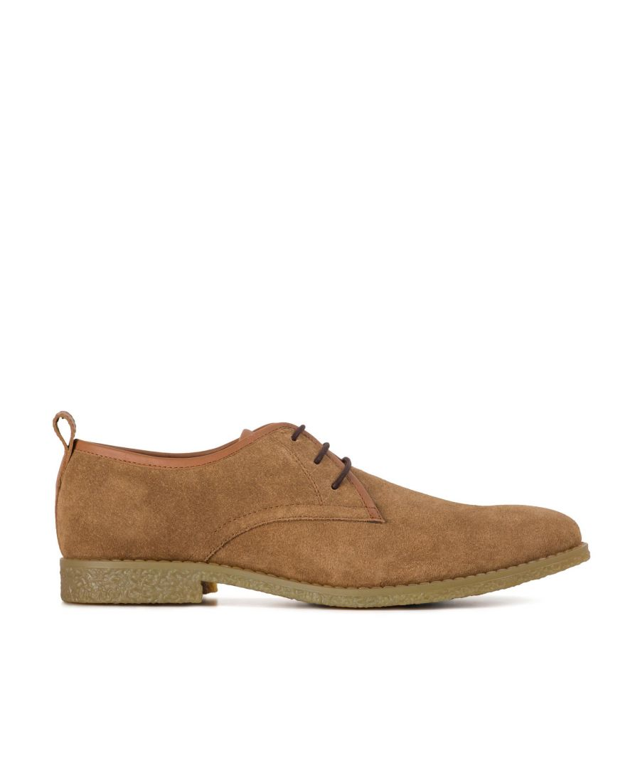Image for Redfoot Lewis Chestnut Suede Desert Shoes