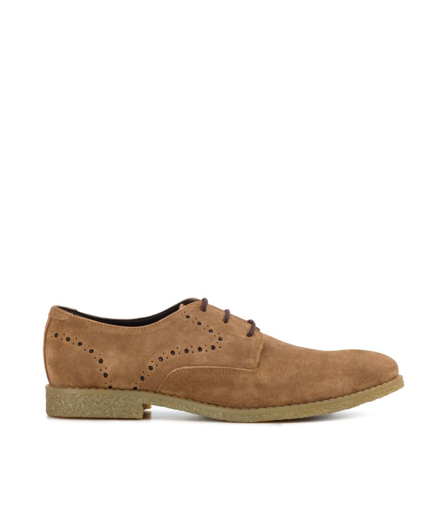 Image for Redfoot Wilson Chestnut Suede Brogue