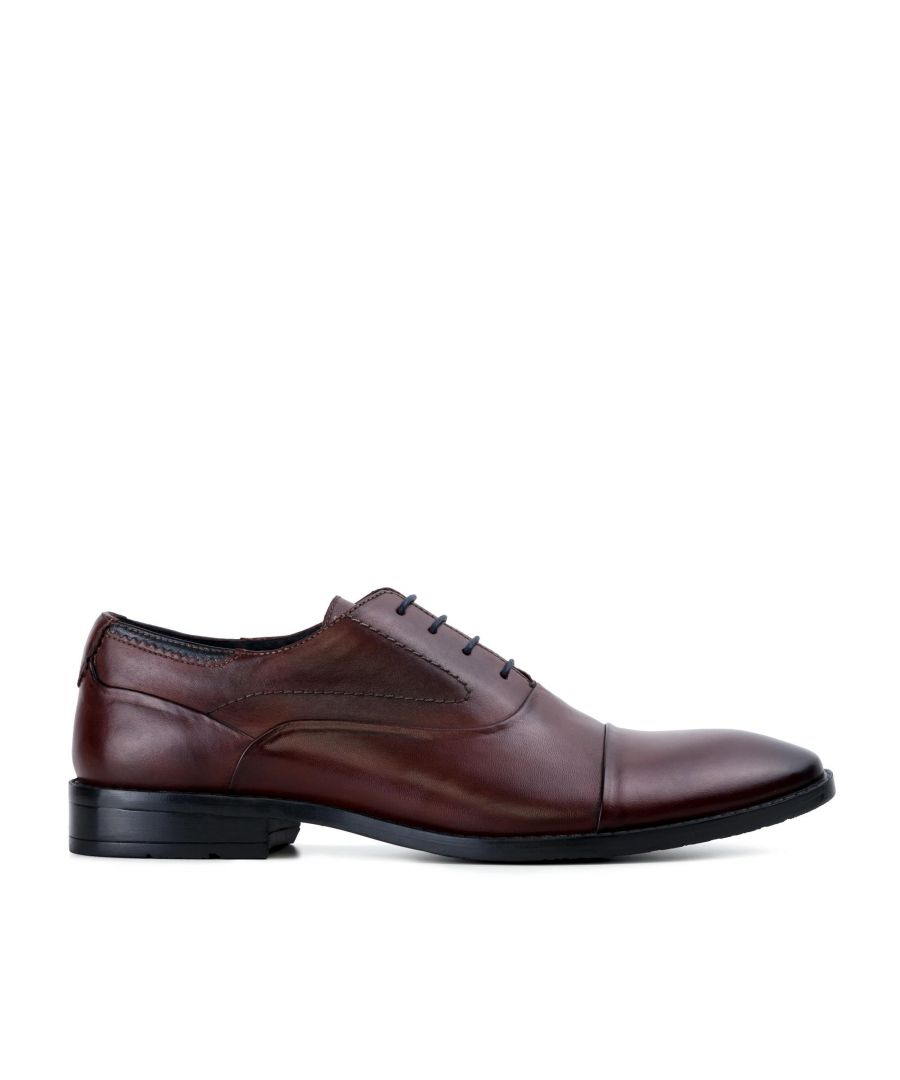 Image for Goodwin Smith Irving Bordo Classic Leather Oxford Shoe