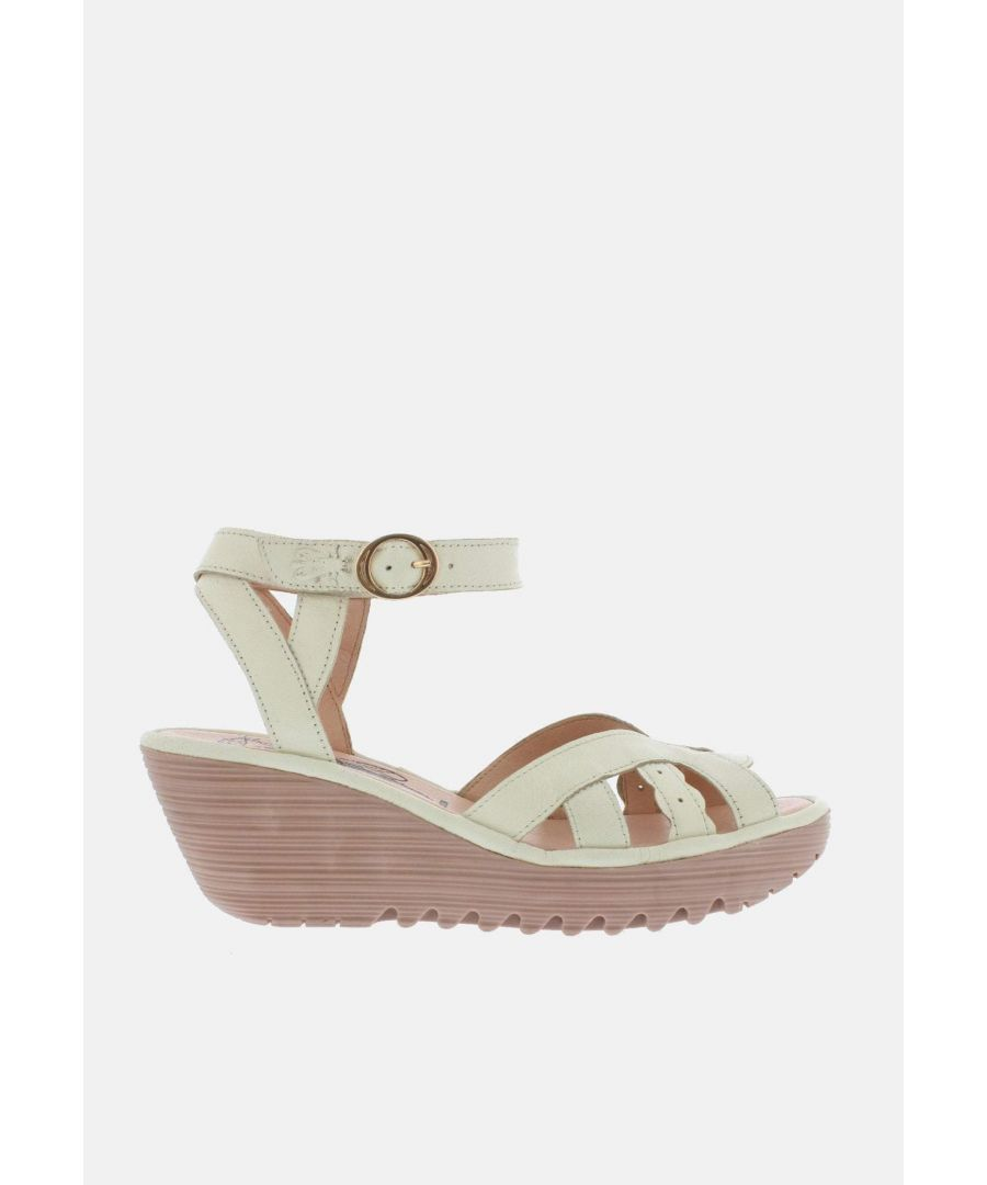 Image for Fly London Yrat Off White (Rose Sole) Mousse