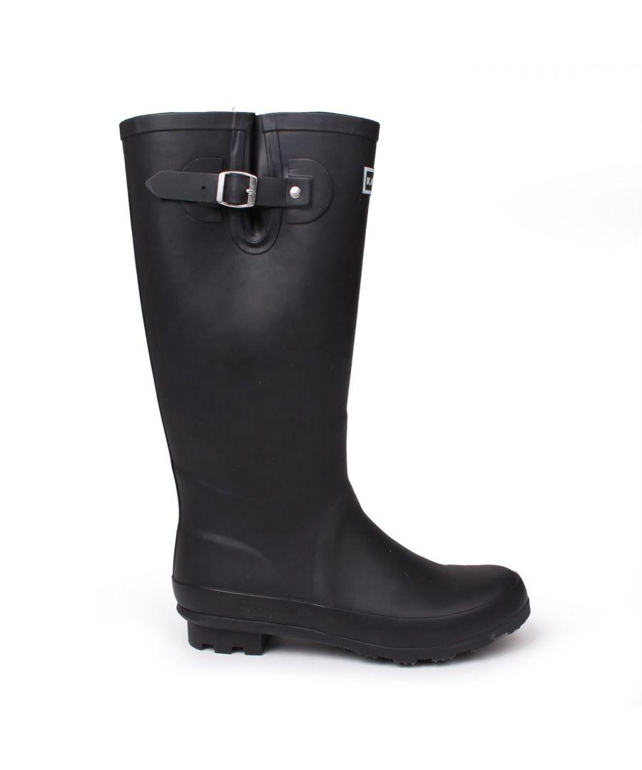 Image for Kangol Womens Tall Wellies Ladies Wellington Boots Rubber Rain Design