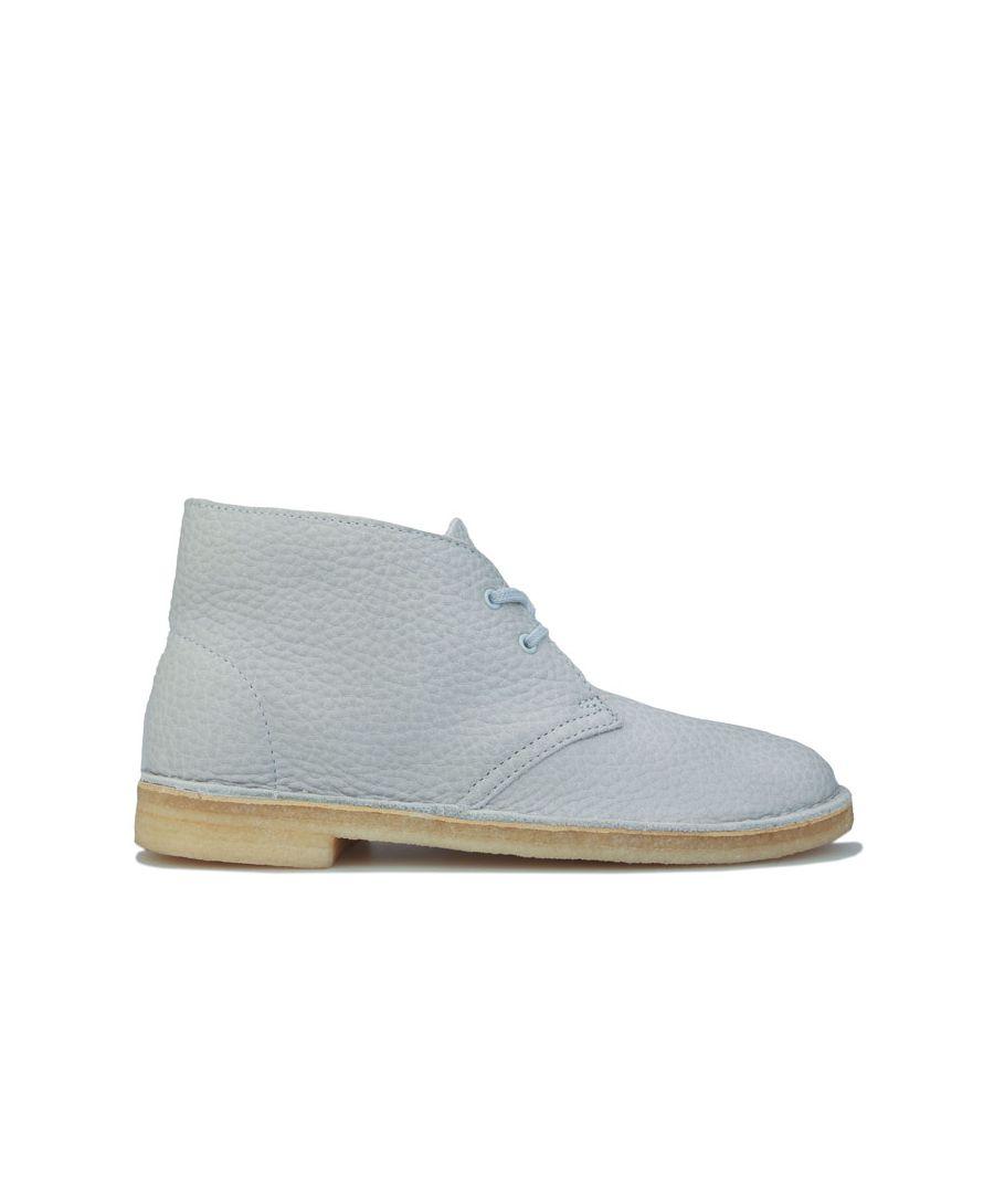 Image for Women's Clarks Originals Desert Boots in Light Blue