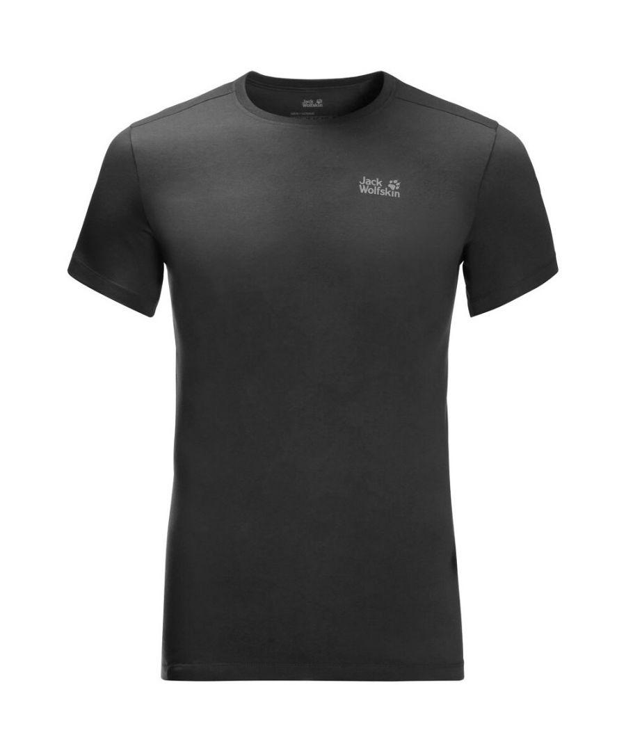 Image for Jack Wolfskin Rebel Mens T-Shirt Charcoal