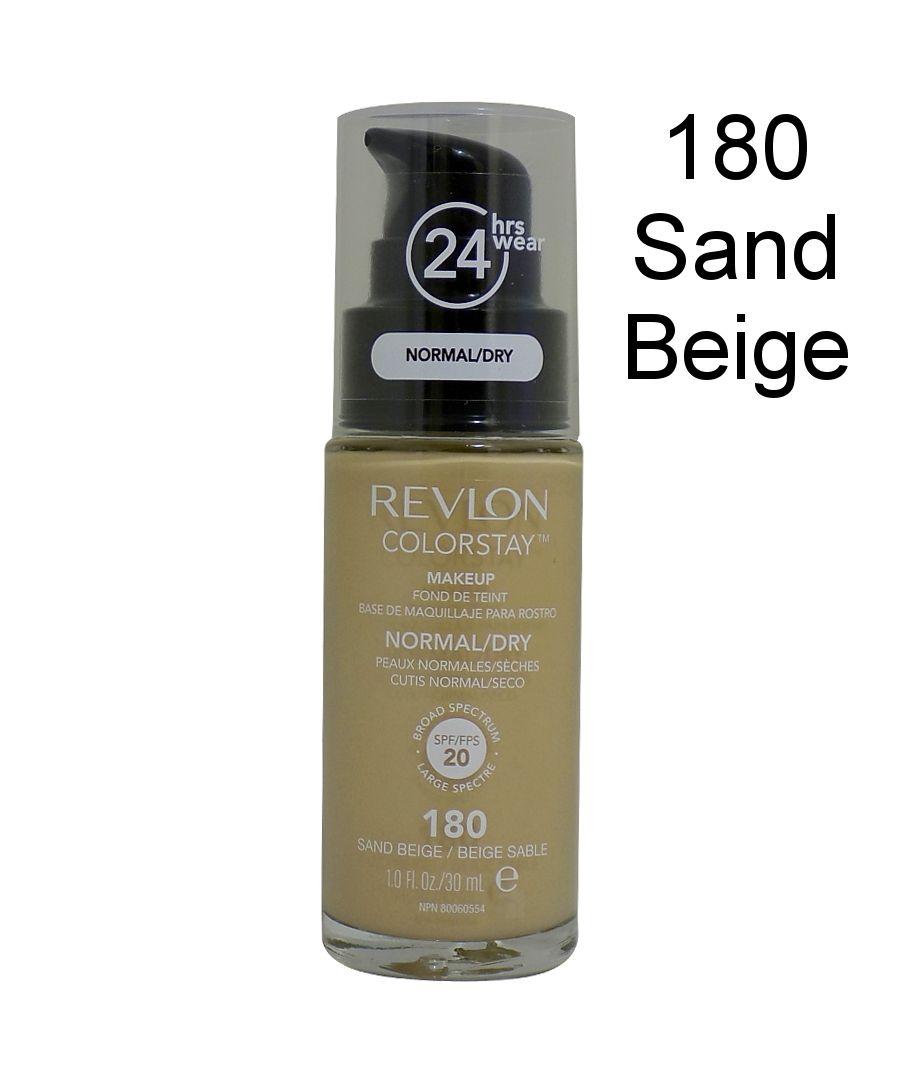 Image for Revlon Colorstay Pump 24HR Make Up SPF20 Norm/Dry Skin 30ml - 180 Sand Beige