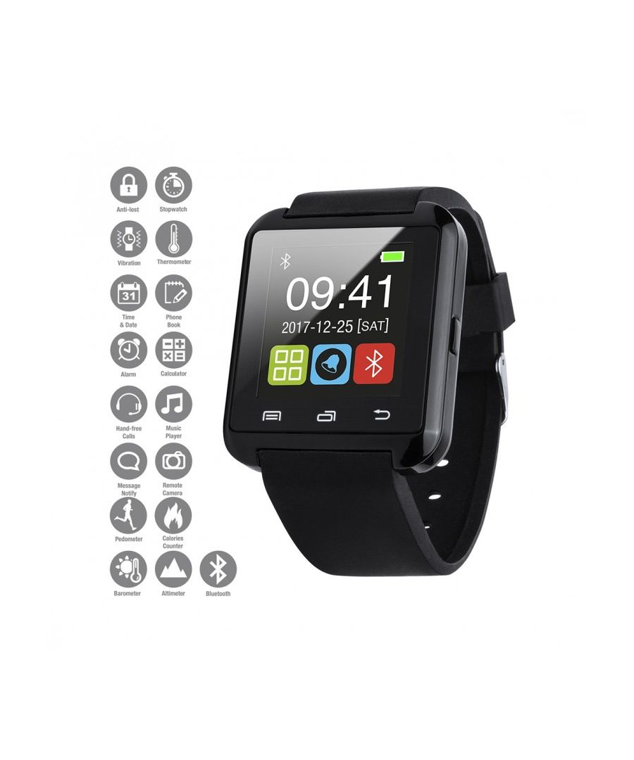 Image for Smartwatch Sport Touch Screen Pedometer Music Player Sleep Monitor Anti-lost for IOS / Android.
