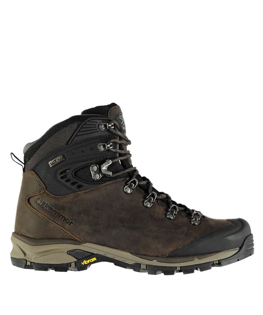 Image for Karrimor Mens Cheetah Vibram Ankle Boots Outdoor Walking Trekking Hiking