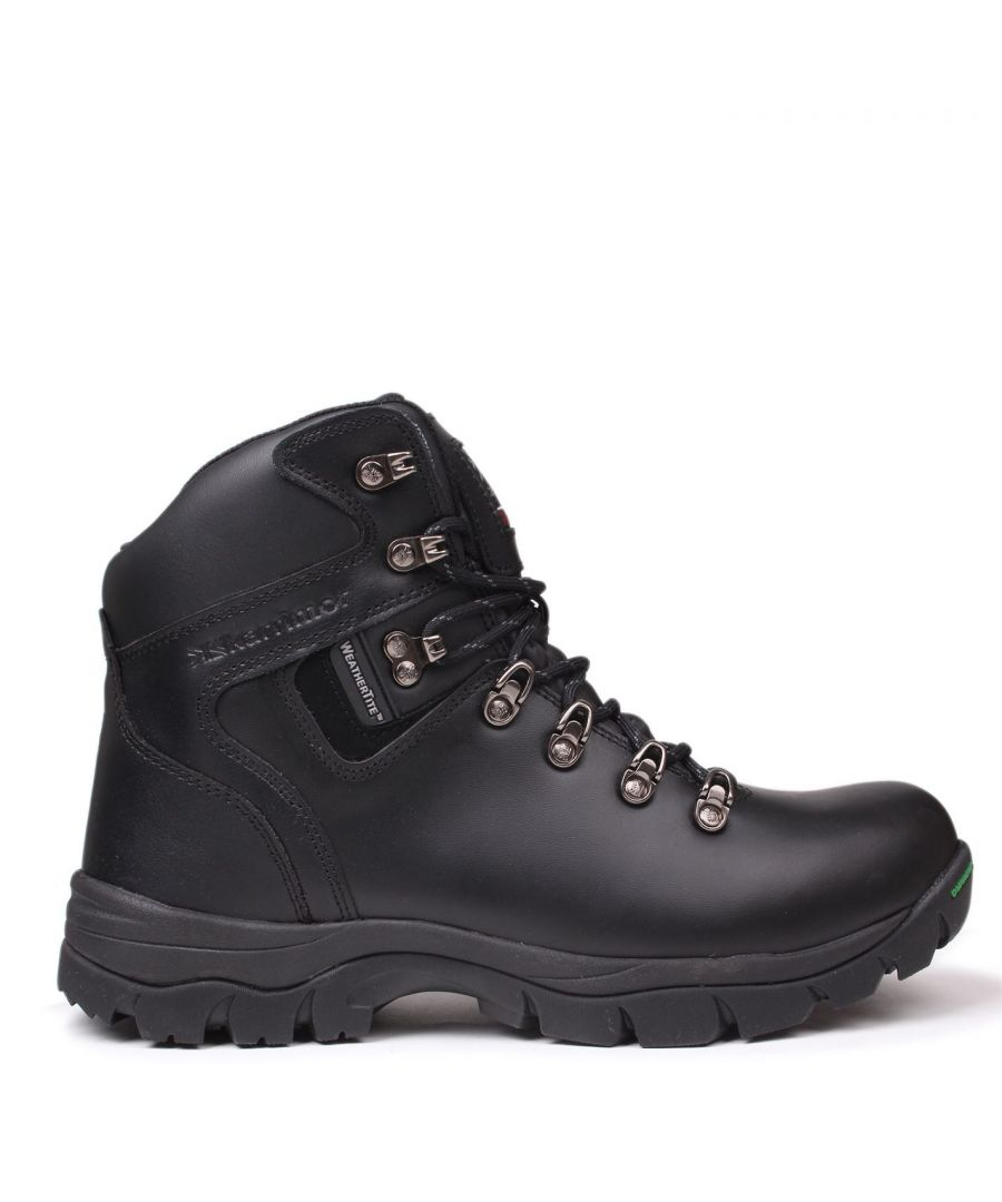 Image for Karrimor Mens Skiddaw Walking Boots Waterproof Metal Eyelets Breathable Shoes