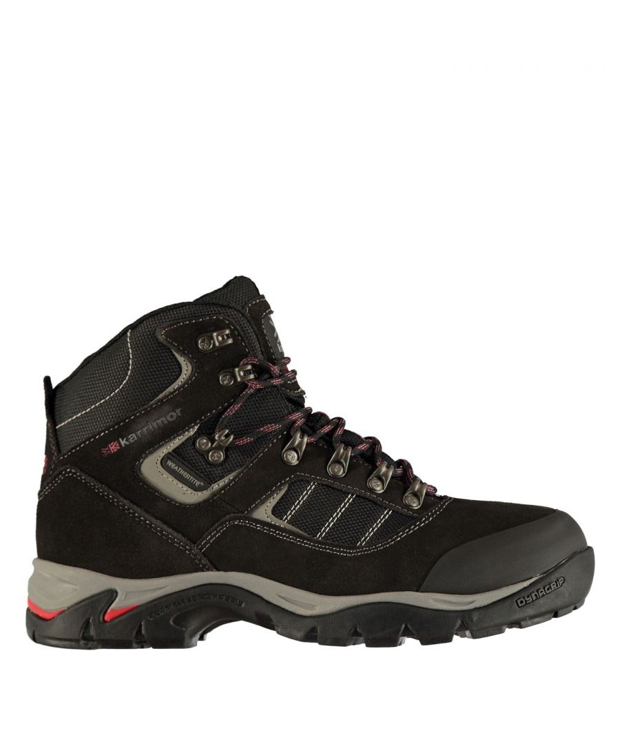 Image for Karrimor Mens ksb 200 Walking Boots Lace Up Hiking Trekking Ankle Footwear