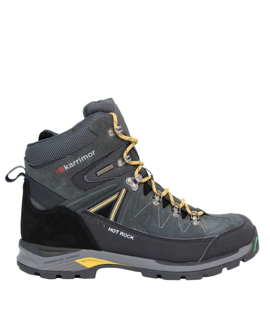 Image for Karrimor Mens Hot Rock Weathertite Extreme Waterproof Trekking Walking Boots