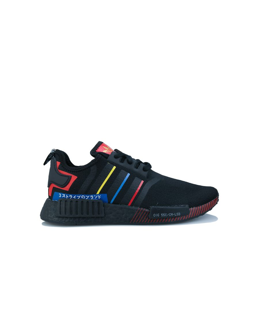 Image for Men's adidas Originals NMD_R1 Trainers in Black