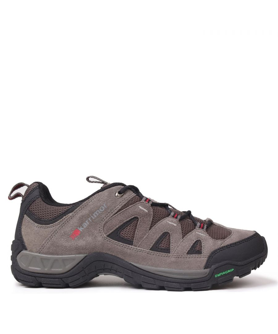 Image for Karrimor Mens Summit Lace Up Breathable Shoes Outdoor Walking Trekking Hiking