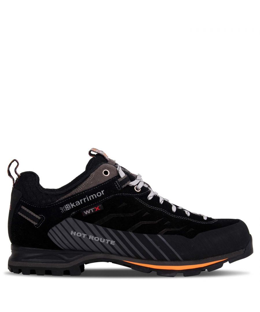 Image for Karrimor Mens Hot Route WTX Walking Shoes Trekking Hiking Waterproof Trainers