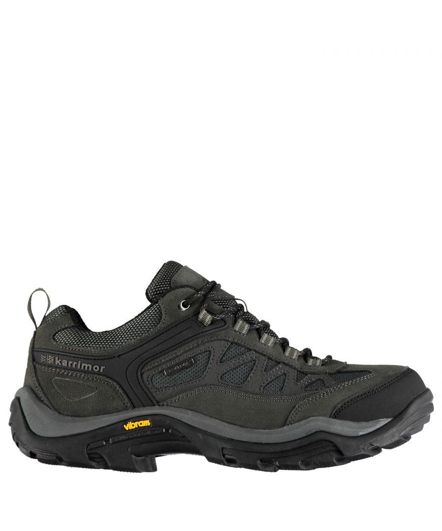 Image for Karrimor Mens Aspen Low Walking Shoes Trekking Hiking Waterproof Trainers