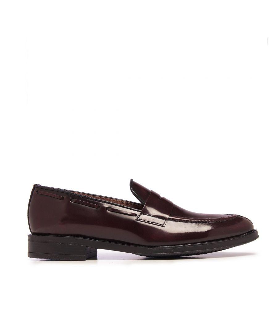 Image for Castellanisimos Leather Boudeaux Moccasin Mask Men Shoes