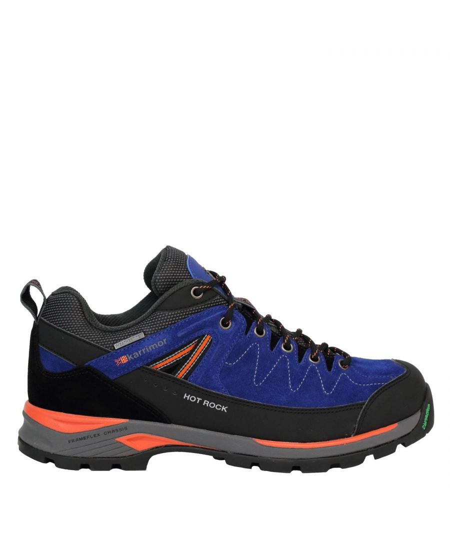 Image for Karrimor Mens Hot Rock Low Lace Up Outdoor Trekking Walking Shoes